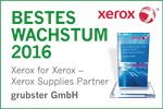 Xerox Award - Bestes Wachstum 2016
