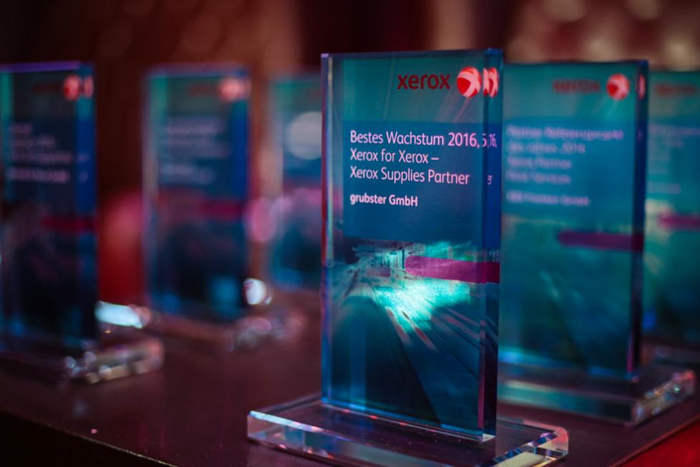 Xerox-Award für bestes Wachstum 2016