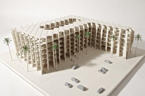 2_Architekturmodell-Voxeljet